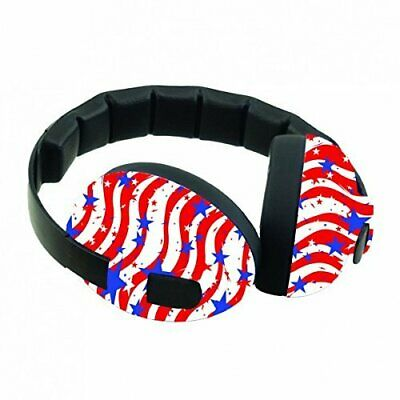 Banz Baby Earmuffs Stars and Stripes 3 mths - 2 years by Banz