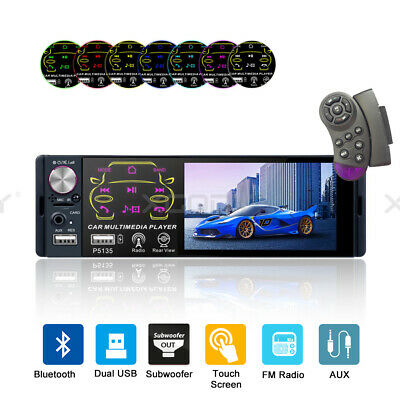"""7"""" Double DIN Car Stereo Radio MP5 Player Touchscreen BT Audio In-dash Head Unit"""