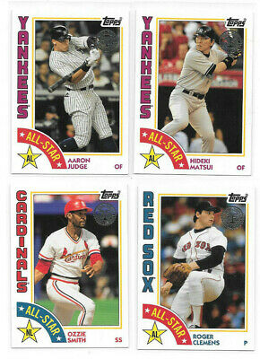 2019 Topps Series 2 1984 All Star + Rookies - U PICK FROM LIST COMPLETE YOUR SET