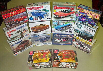 Lot Of Model Kits Ford Chevy Dodge Pontiac Willys Gasser Comet A/Fx Pickup Truck