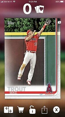 Topps Bunt Complete Prize Wheel Physical Set Of 217 Cards Trout Yelich Acuna