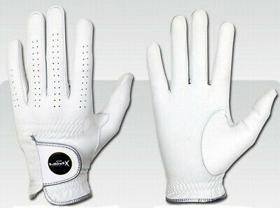 XSpiders Mens golf glove 6 Packs All Premium Cabretta Glove Field game + Gift