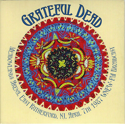 Grateful Dead - Meadowlands Arena, East Rutherford, Nj, April 7th 1987 Wnew-Fm