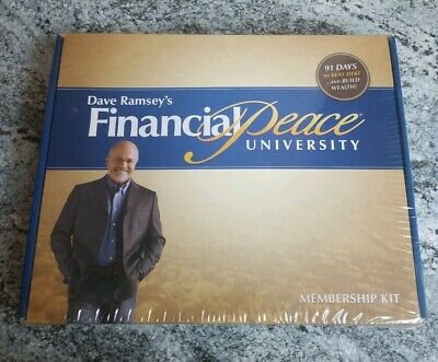 Financial Peace University Member Kit - New In Box! Dave Ramsey Sealed CDs Book+