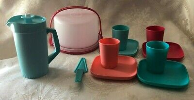 NEW Tupperware Kids 11 pc. Party Set