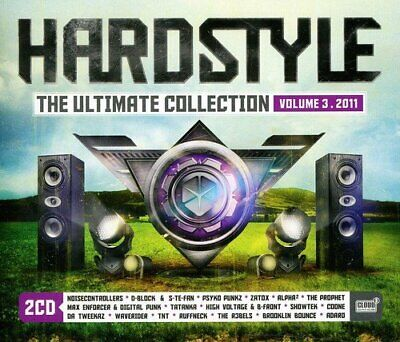 Various Artisits - Hardstyle the Ultimate Coll - Double CD - New
