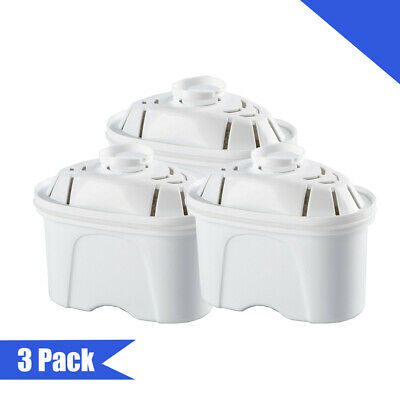 3X Water Pitcher Filter Replacement for pitcher Alkaline Vigorous, Brand MAXTRA+