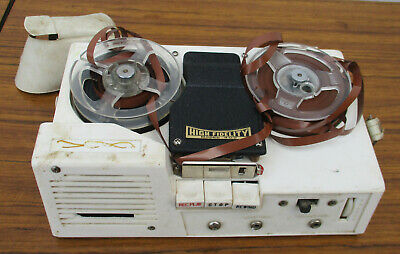 Small, Vintage,  High Fidelity Portable Tape Recorder.  Collectible