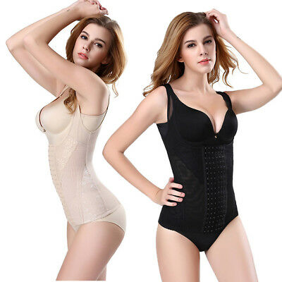 US Women Body Shaper Control Slim Tummy Corset High Waist Panty Shape Under Wear