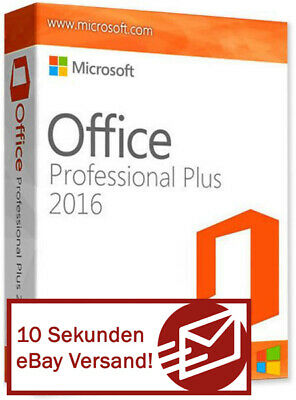 Microsoft Office 2016 Professional Plus Vollversion Software Key Software Lizenz