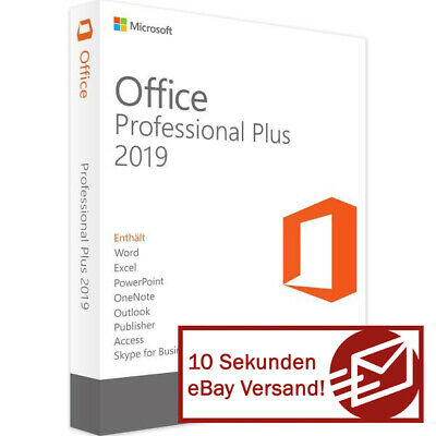 Microsoft Office 2019 Professional Plus Vollversion Software Key Software Lizenz