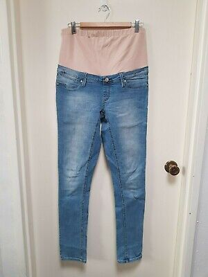 Jeanswest Maternity Light Blue Skinny Jean size 12