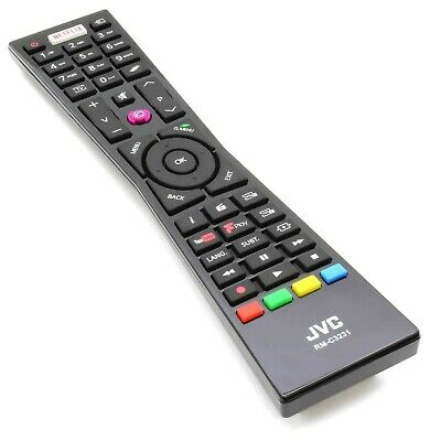 Original 100% Genuine RMC3231 RM-C3231 Remote Control for JVC Smart 4K LED TVs