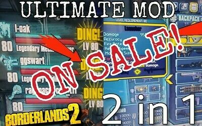 BORDERLANDS 1,2 OR TPS Modding/Max Level with OP10 and