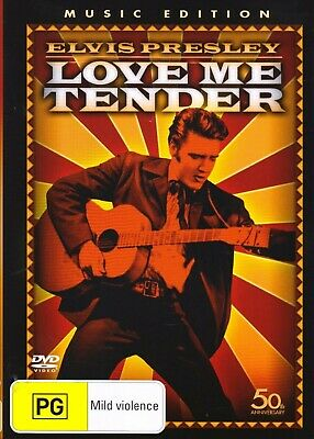 Elvis Presley Love Me Tender DVD 2007 Brand New Sealed 50th Anniversary