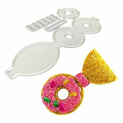 Donut Bow Metal Cutting Dies Stencil DIY Scrapbooking Paper Card Embossing Craft