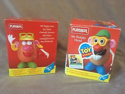 Disney Toy Story Mr and Mrs Potato Head Playskool Editions Boxed Rare Collectors
