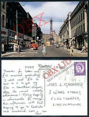 Grainger Street, Newcastle Upon Tyne Picture Postcard <06/64