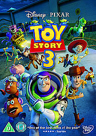 TOY STORY 3 DISNEY DVD -  three
