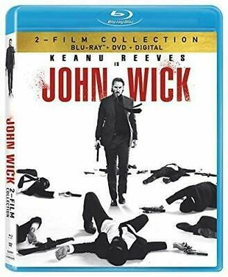 John Wick  Double Feature Keanu Reeves R Blu-ray discs 4  Mystery Thrillers NEW