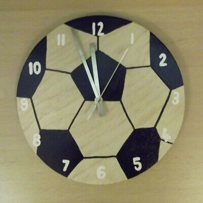 Large 26cm Football Clock for all Football Fans