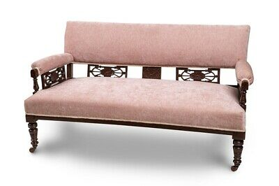 ANTIQUE SOFA  newly reupholstered