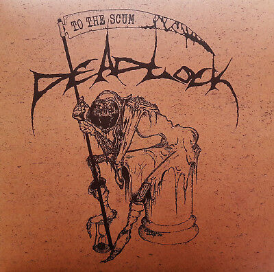 DEADLOCK - To The Scum LP NEW feat former members of DEAD Death-Grind-Thrash