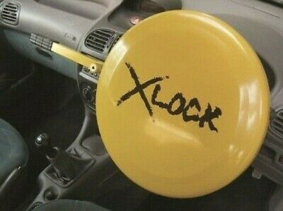 X Lock Full Face Car Steering Wheel Lock -