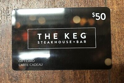 The Keg Gift Card - $50 Mail Delivery