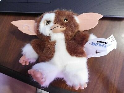 "NECA Gremlins Gizmo w/Smile Happy Face 6"" Plush Figure Mogwai"