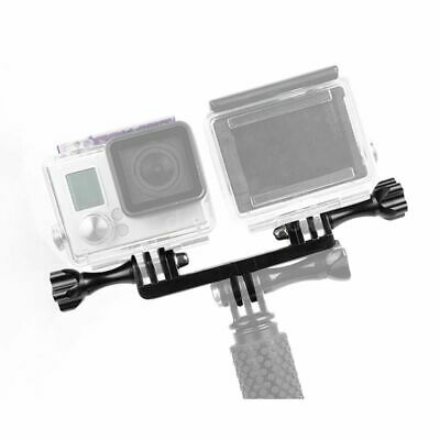 Double Tripod Holder Pro Action Sport Camera Mount Adapter For Gopro Hero Gadget