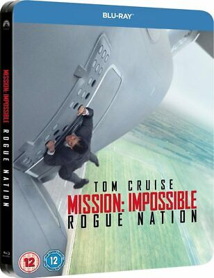 Mission Impossible : Rogue Nation [Blu Ray Steelbook] Tom Cruise - Neuf - New