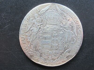 RDR, Österreich, Maria Theresia, Ungarn Taler 1780 B, SK-PD, Silber, ss.,