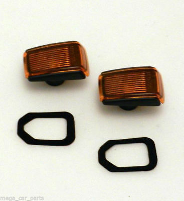 VOLVO S60 S80 V70 XC70 XC90 NEW Side Wing IndicatorS Repeaters SET LH+RH SMOKED