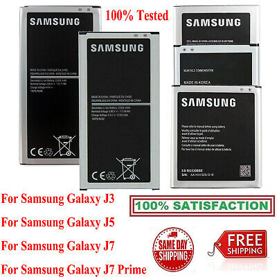 For Samsung Galaxy J1 J3 J5 J7 Original OEM Cell Phone Battery Replacement New