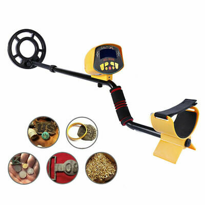 MD-3010II Detector de metal oro Digger Hunter Búsqueda sensible LCD impermeable