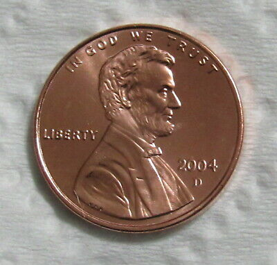 2004-D 1C Lincoln Memorial Cent - Uncirculated