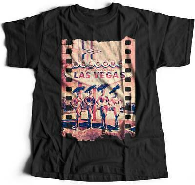 A834B Mens T-Shirt Fabulous Vegas Art Welcome To Dancers Nevada Las Abstract Fas