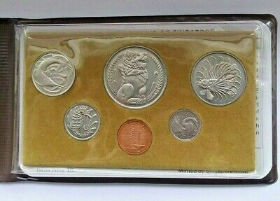 1981 Singapore Year of the Rooster Coin set Sealed