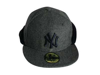 438ff42f MLB NEW YORK Yankees New Era 59FIFTY Fitted Hat Cap Big Word Navy ...