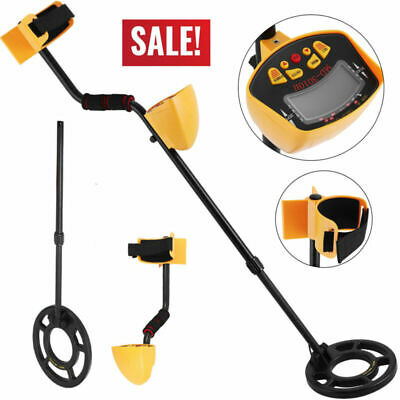 Detector de metales oro Digger Deep Sensitive Light Pantalla LCD sin batería