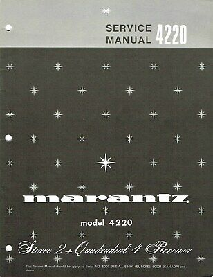 MARANTZ 2285B CD SERVICE + OWNER'S MANUALS Stereo Radio Receiver