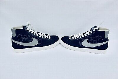 official photos c056f 596cc Nike Blazer Big Homie NYC 330245 Blue Silver Men s size 11 EUC