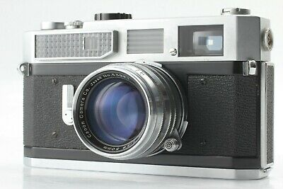 【N/Mint】 Canon 7 35mm Rangefider Camera 50mm F/1.8 Lens From JAPAN 618