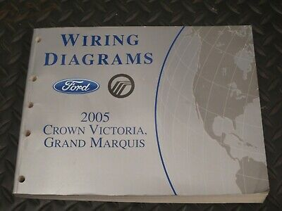 2005 ford crown victoria mercury grand marquis wiring diagrams     ford  crown victoria trunk