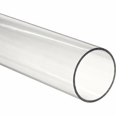 "5 pieces - Acrylic Tube 1/2"" OD x 1/4"" ID - 12"" Long CLEAR (For DIY, Craft,...)"