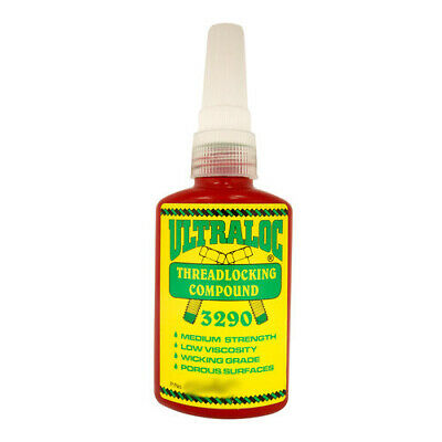 Ultraloc Threadlocking Compound Green - Anaerobic Medium Strength Wicking Grade