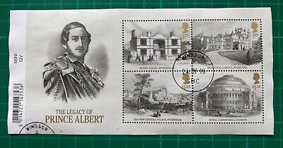 2019 Queen Victoria Bicentenary Legacy of Prince Albert ....... USED