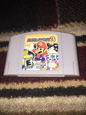 Mario Party 3 (Nintendo 64, 2001) AUTHENTIC CART ONLY