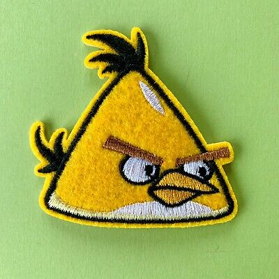 Angry Birds Embroidered Appliqué Patch Sew Iron On #